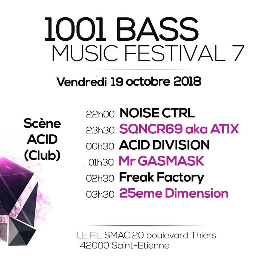 1001 BASS MUSIC FESTIVAL # 7