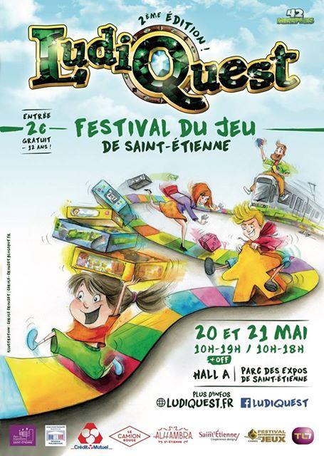 Ludiquest, festival du jeu de Saint-Etienne