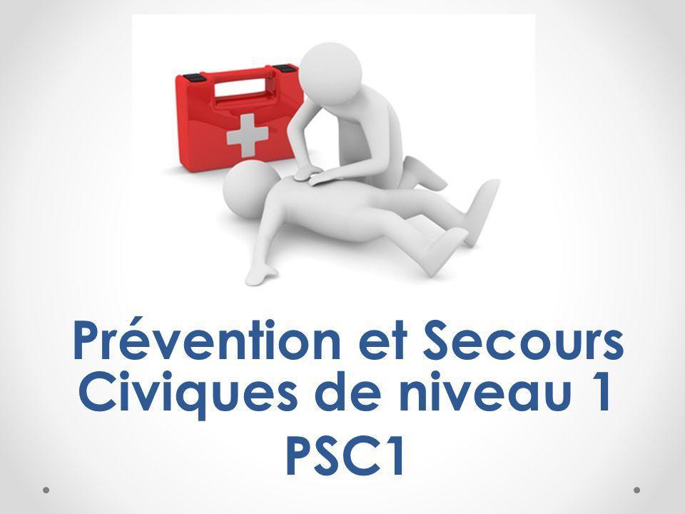 Formation aux premiers secours - PSC1